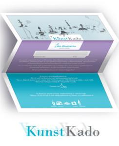 KadoBon van Sas illustraties - geef kunst cadeau!